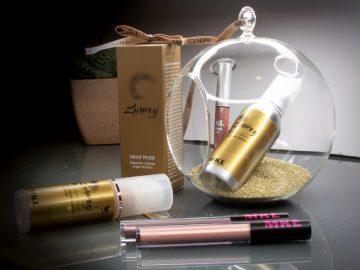 Luxury makeup glitterato maskproof